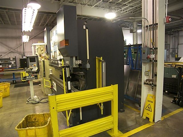 90 TON X 8', PC BASED CONTROL, 8-AXIS G.G., CROWNING, HYD. CLAMPING