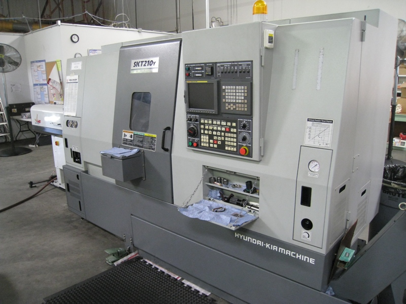 KIAKIA MODEL SUPER KIA TURN 210 Y MILL/TURN CNC LATHE