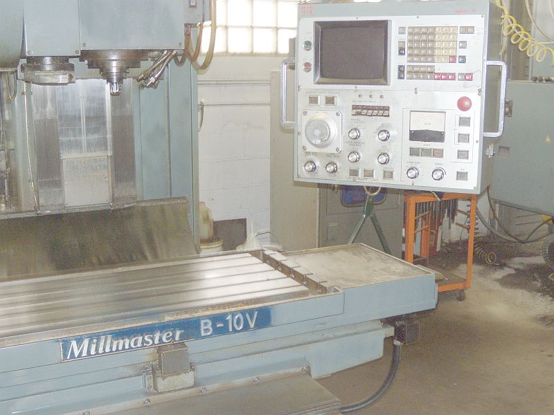 "SHIZUOKAFANUC 6M CNC CONTROL, 40"" x 20"" x 20"" TRAVELS"