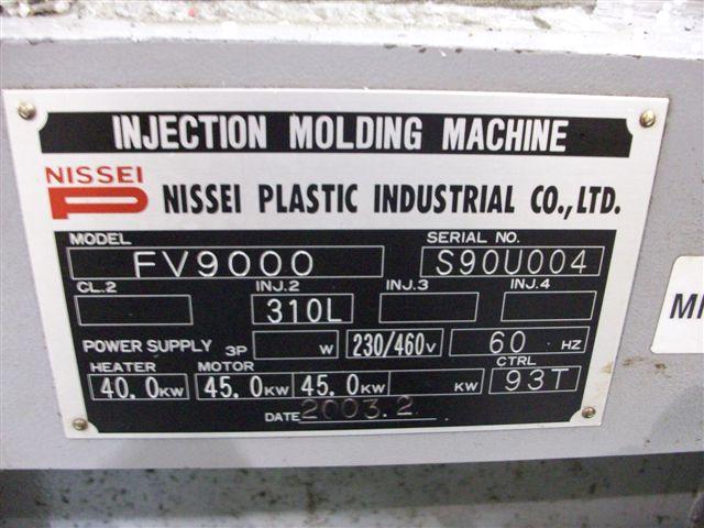 NISSEI618 TON 132 OZ , NISSEI , NC9300T CONTROL