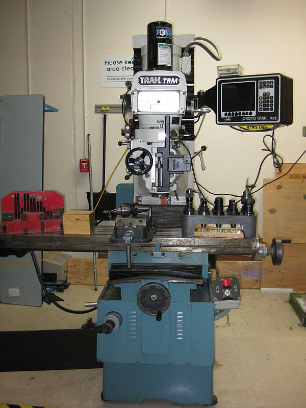 2 AXIS PROTOTRAK MX2, PDB, TOOLING