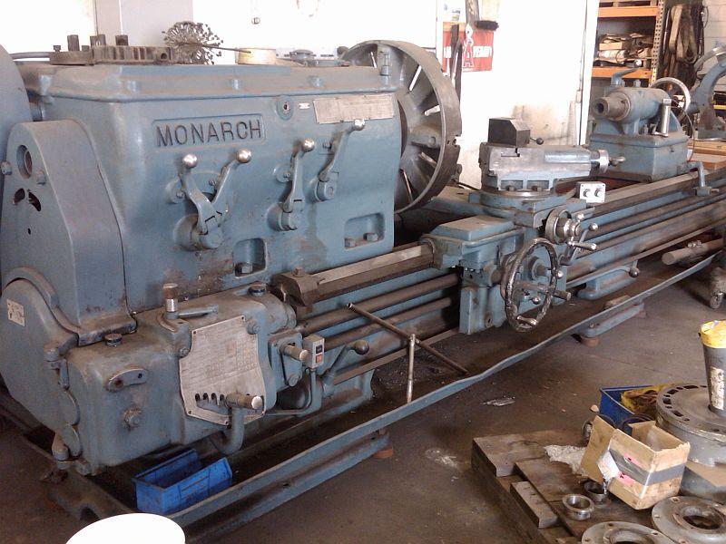 "36.5"" X 144"" MONARCH MODEL 25"" LATHE - NEW 1951"