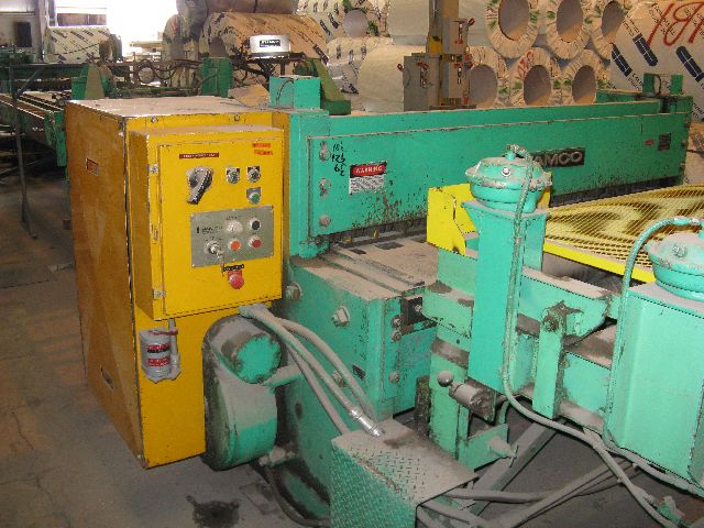 "72"" X 3/16"" , 24000 LB , 6 ROLL STRAIGHTENER, FAMCO 1/4"" SHEAR"