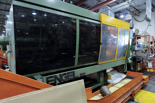 500 TON 57 OZ ,ENGEL, CC-100 CONTROL