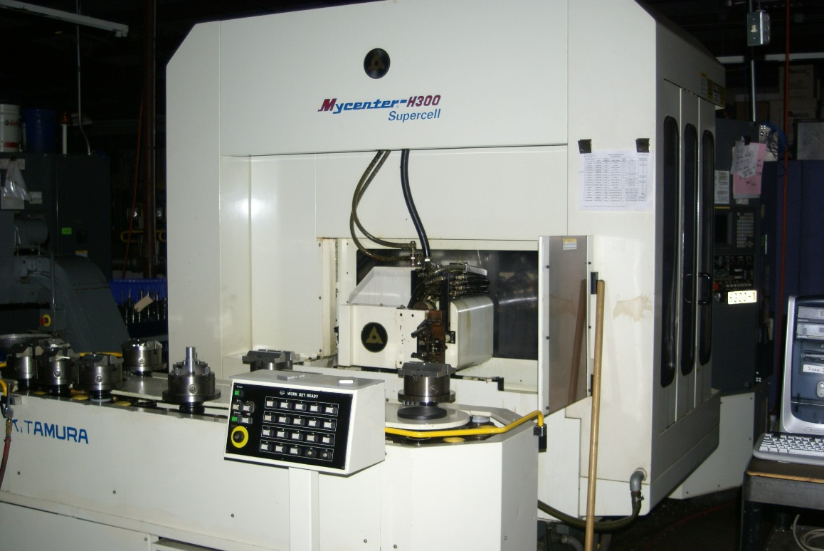 "15""x16""x15"", 5-AXIS, FANUC 15M, 12K RPM SPINDLE, 20 PALLETS"