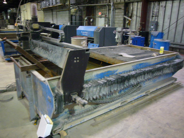5'x10' CUTTING AREA, 30HP 55K PSI KMT PUMP, HOPPER, GEOMATE SOFTWARE
