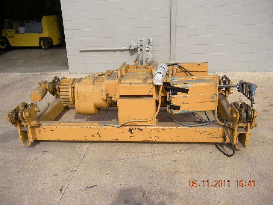 7.5 TON, 22' LIFT, ELECTRIC HOIST