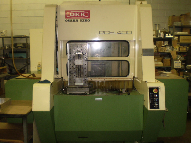 OKK PCH-400 TWIN PALLET HORIZONTAL MACHINING CENTER, NEW: 1991