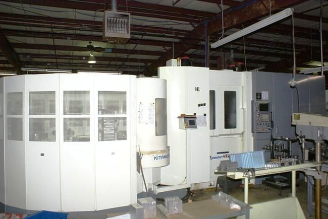 KITAMURA MYCENTER HX-400-iF CNC HORIZONTAL MACHINING CENTER NEW: 2005