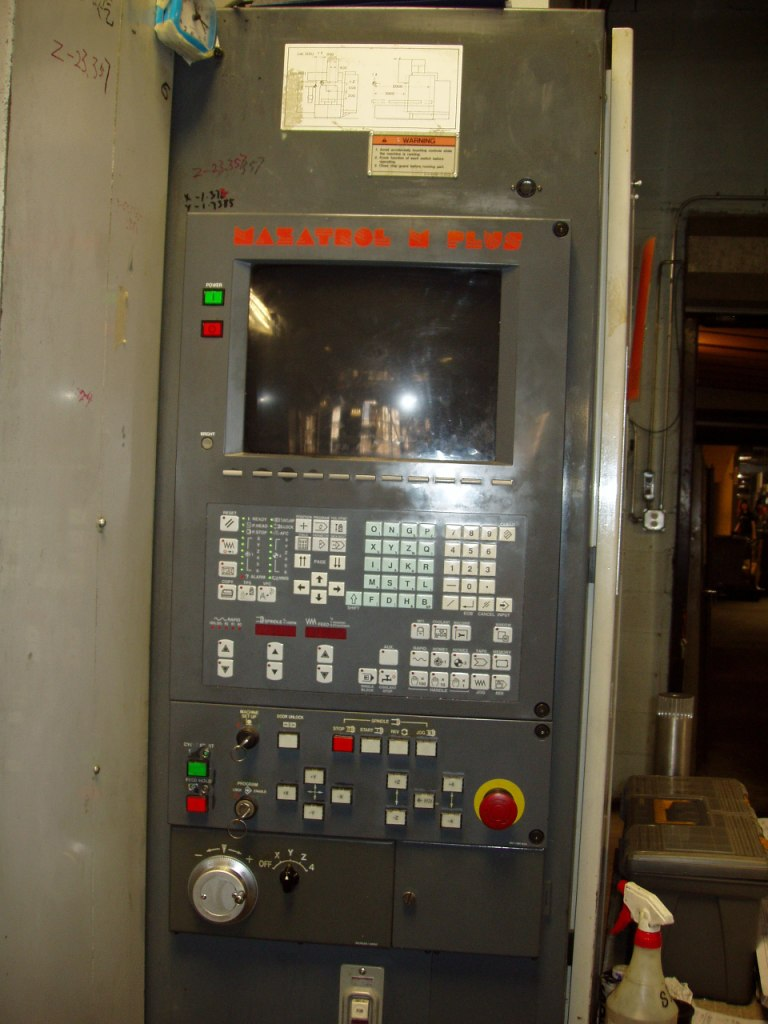 "Mazak AJV-35/80  79""x31.5""x20"", M-PLUS CONTROL, 4TH AXIS"