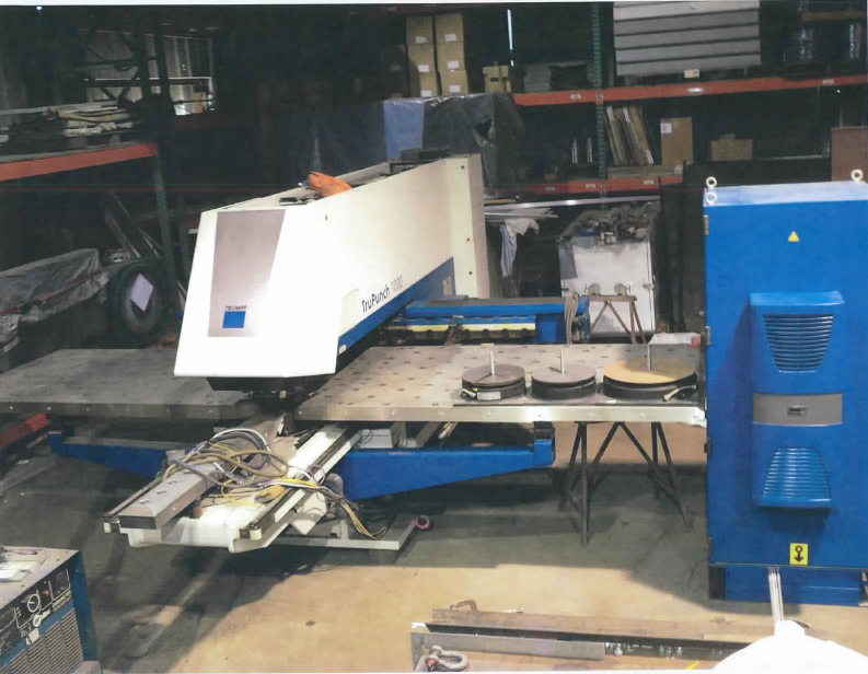 TRUMPF TRUPUNCH 1000 - Punches, Turret