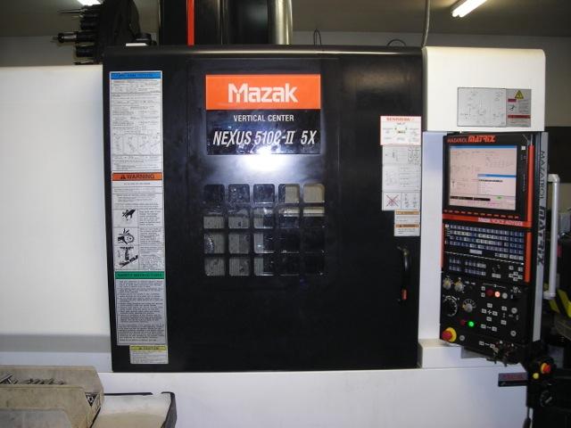 Mazak Nexus 510C-II 5-Axis