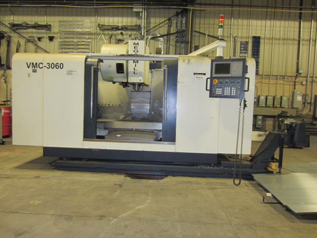 Megamill VMC-3060 Vertical Machining Center, New: 2005