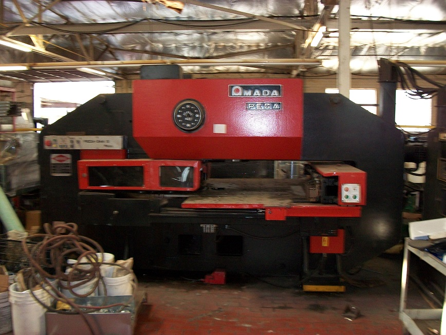 Amada Pega 344 Turret Punch  New: 1984