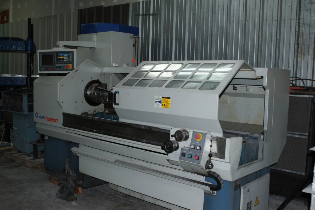 "Romi - Bridge Port EZ Path 11S CNC Lathe 20""x60"", 10"" Chuck."