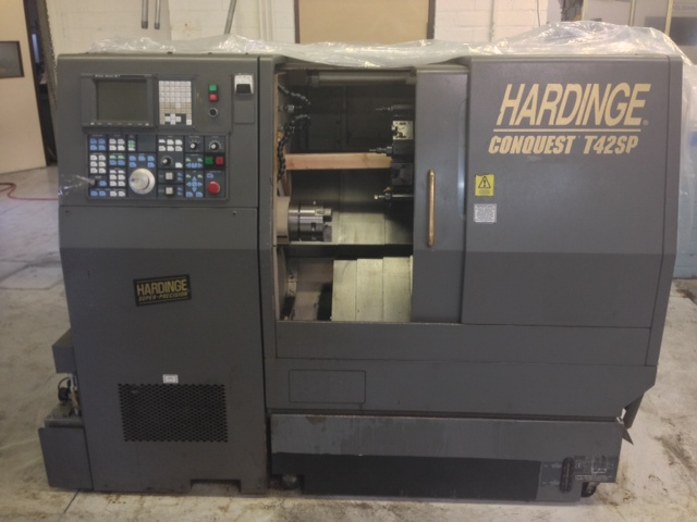 "GE Fanuc 18T,  6"" Chuck, Programmable Tailstock"