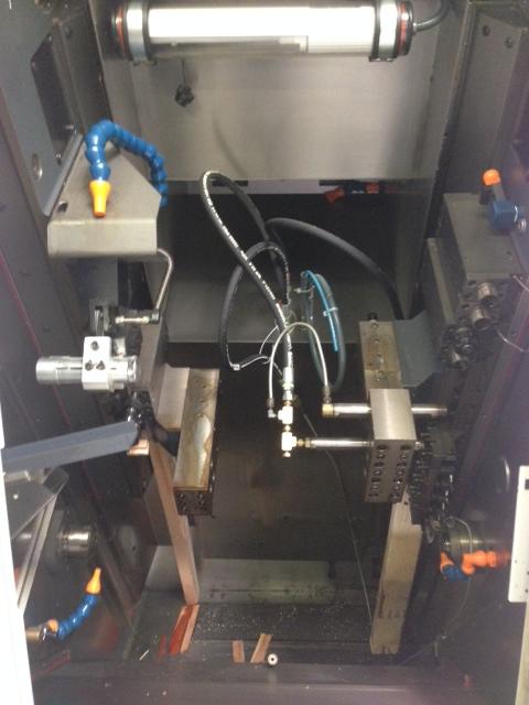 """6-Linear Axis, 1"""" Bar, 12' SBF-532 Robobar Bar loader, Fanuc 31i Control, live tool,"""