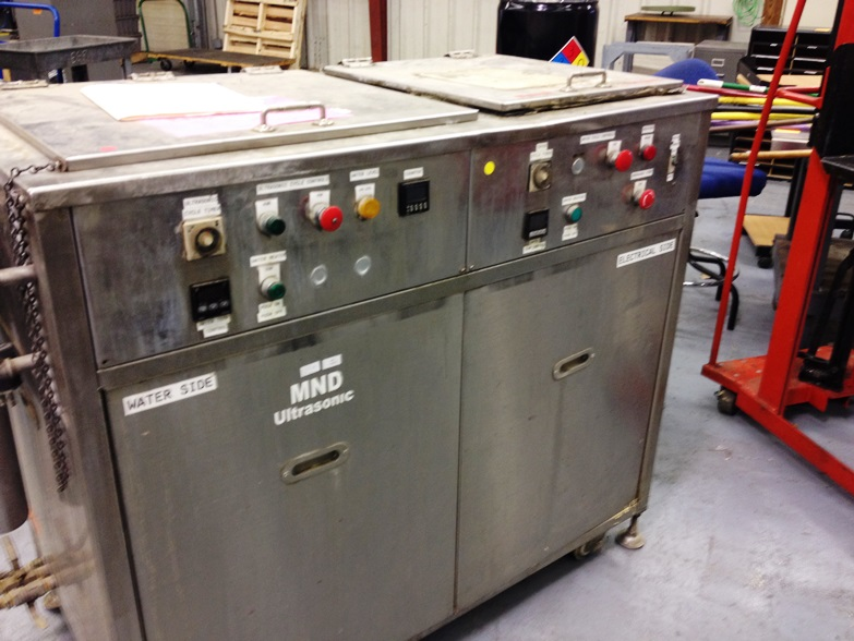 2009 Ultrasonic Parts Washer
