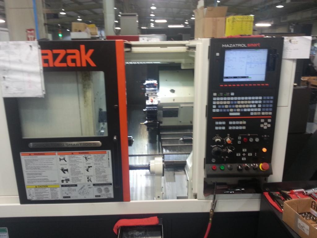 Mazak Quick Turn Smart 100S CNC Turning Center