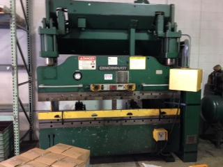 90 Ton x 8' Cincinnati AutoShape Series 6 Press Brake