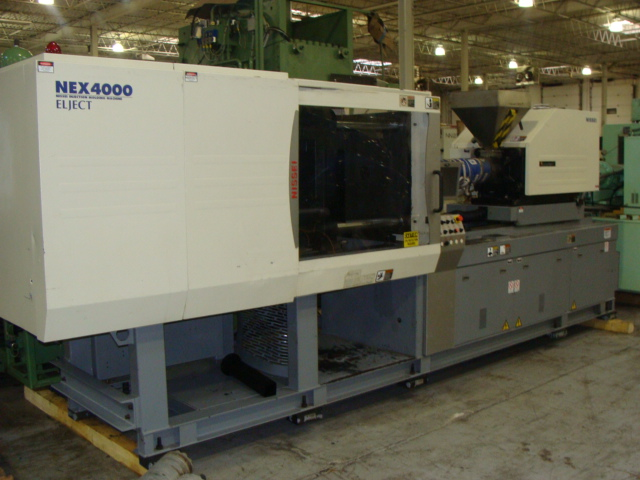 NISSEI NEX4000-25E, H360008 200 TON INJECTION MOLDING MACHINE