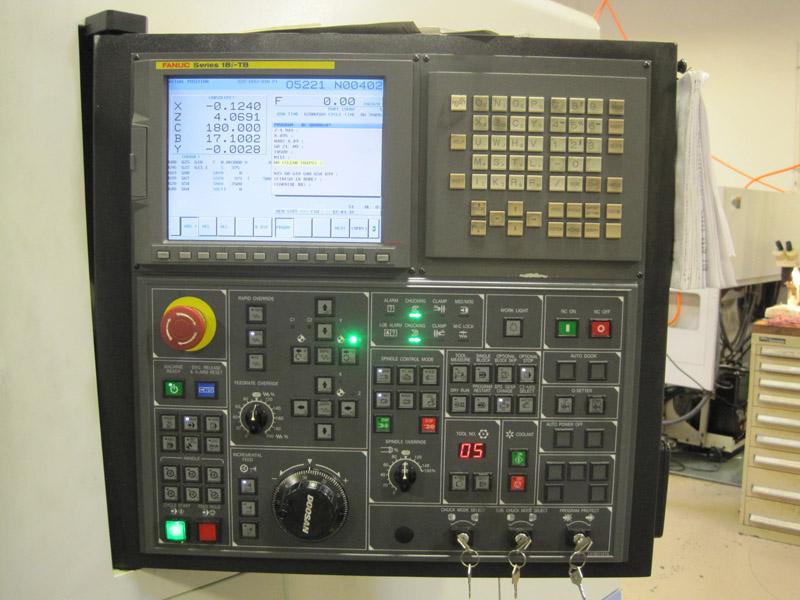 "DOOSANDoosan Puma 2000SY, 23.6 swing, 20"" turn Length, Fanuc 18i-TB Control"