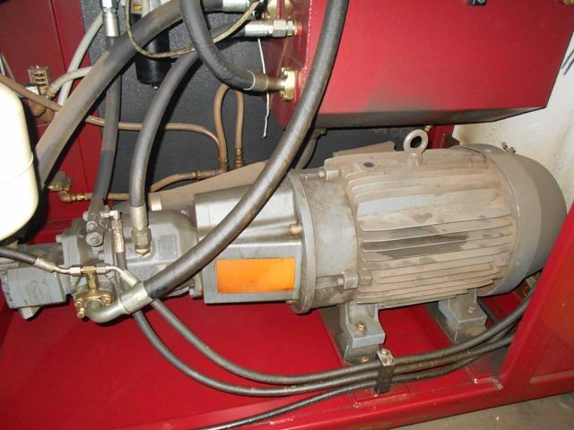 WARD13' x 30', Dual Pump Waterjet. 50HP, 60K PSI, Burny Control, Granite Hoppers