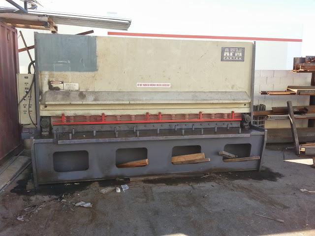 """AFM3/8"""" x 10' Hydraulic Shear"""
