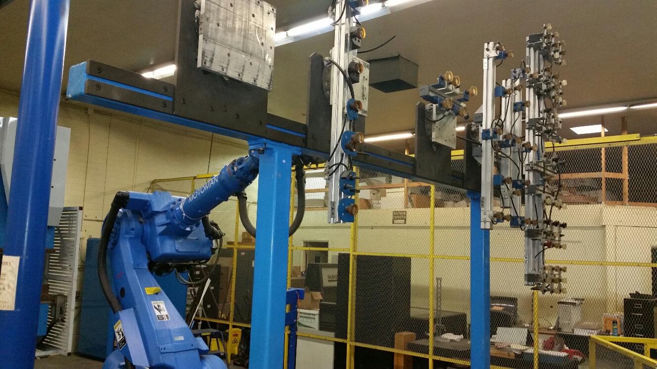 Finn-Power (Prima Power) Fabrication Cell w/ Press Brake, Robot & Work Cell