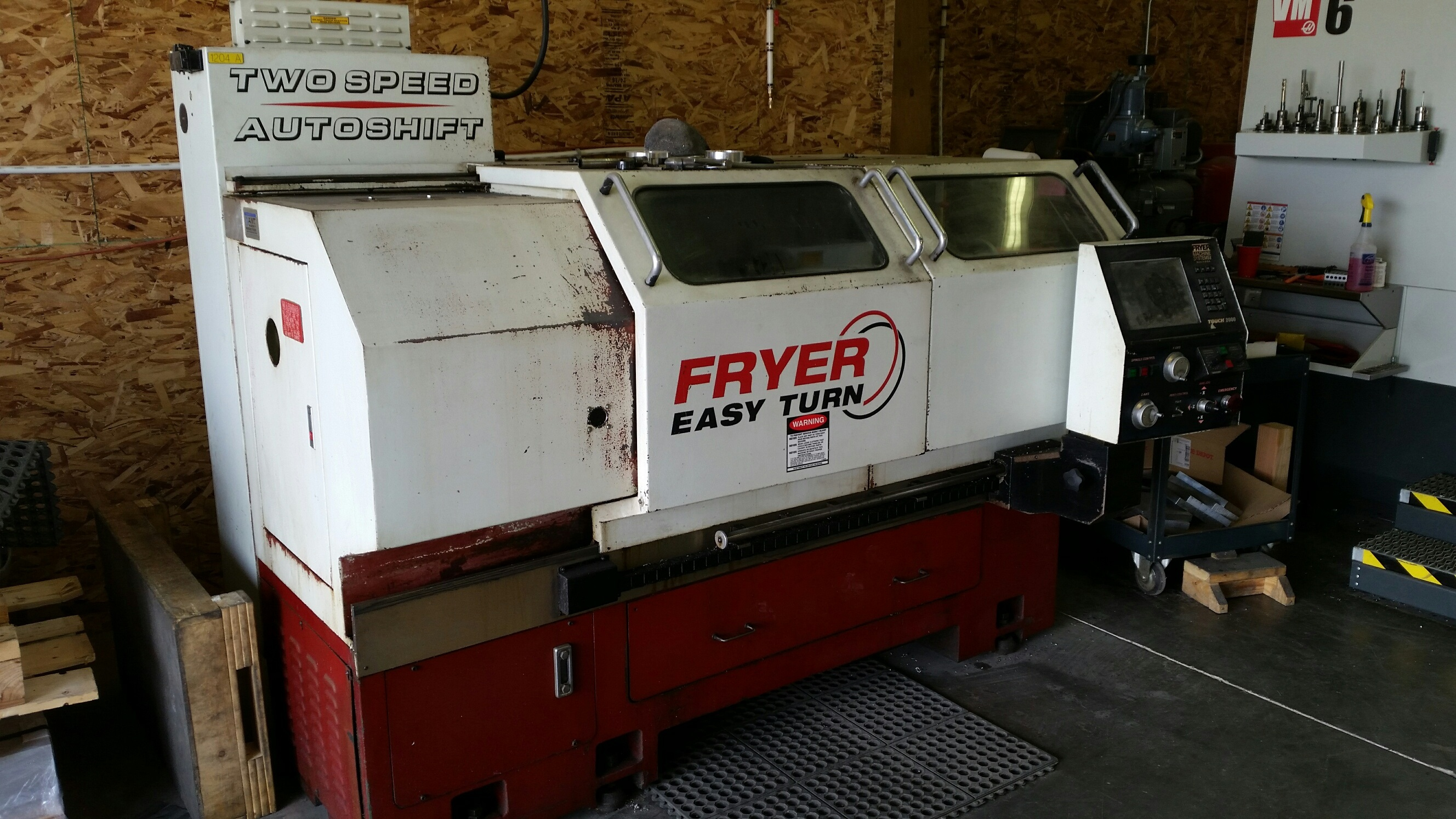 Fryer Easy Turn ET18 CNC Lathe