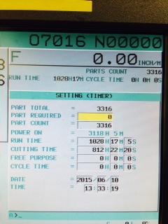 "DOOSANDoosan Puma V550 VTL, 18"" Chuck, Chip Conveyor"