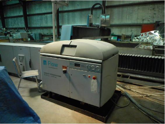 FLOW2011 Flow Waterjet M4-3060C WMC equipped w/ Dynamic Waterjet Precision Z-Axis, 94K PSI Intensifier, 10' x 20' Table, 3500 Hours