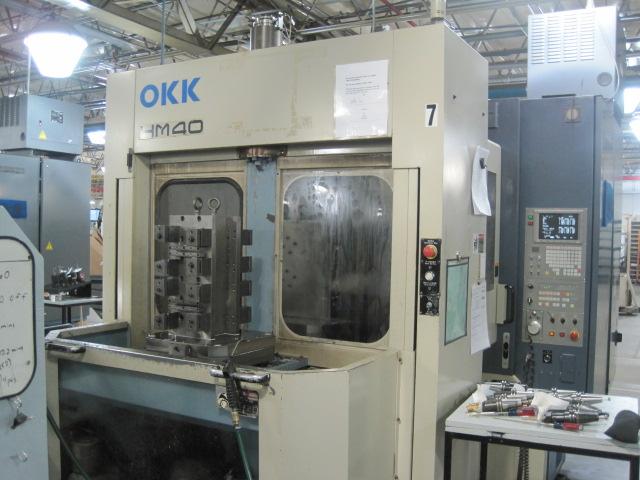 OKK HM-40, 1997, Mitsubishi Controller