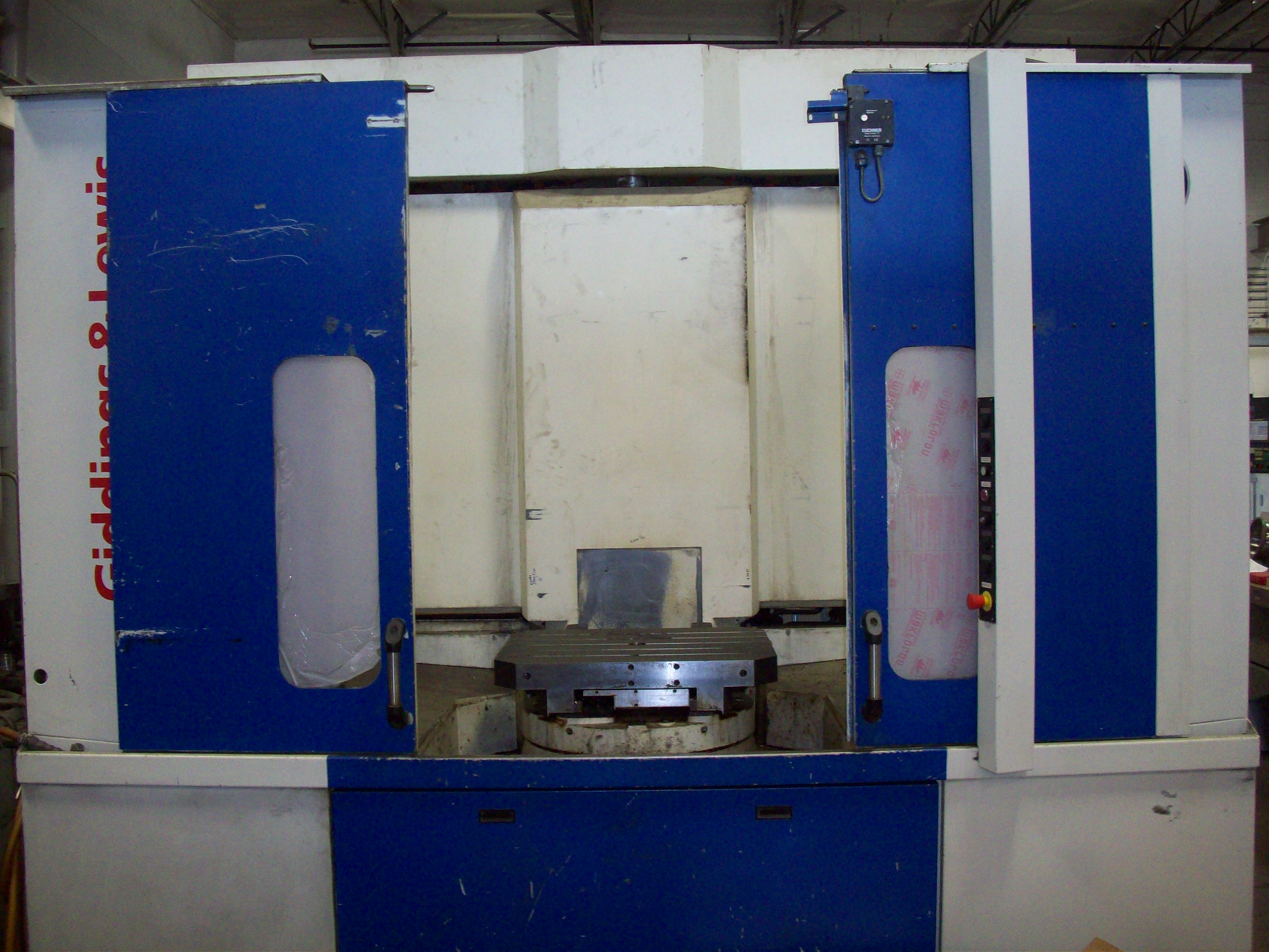 "G&L HMC-230 HMC, 47""x39""x39"", 31.5""x24.8"" Pallets, Full 4th, 50 Taper, 6K RPM, Fanuc 160i-MB Control, Chip Conveyor, Tooling!"