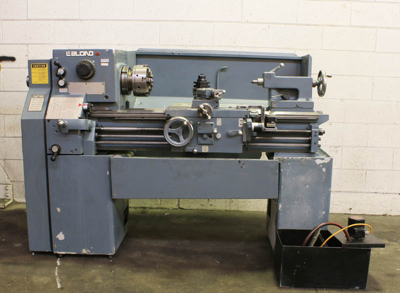"15"" x 30"" LEBLOND SERVO SHIFT ENGINE LATHE MODEL: 15"" REGAL, S/N: 12C-197, NEW: 1980   SPECIFICATIONS: SWING OVER BED .................... 15-1/2"" SWING OVER CROSS SLIDE ............ 9-1/2"" DISTANCE BETWEEN CENTERS .......... 30"" SPINDLE NOSE ....."