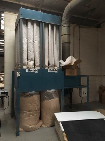 Multicam 4x8 MG Router, 2004, Colombo Spindle, 10HP Dust Collector