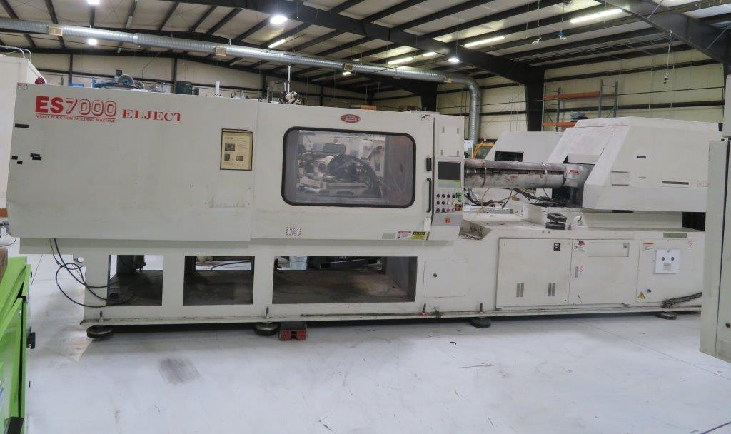 "Nissei ES7000-100E Electric, New 2000, 397Ton, 31.2 Oz, 28.9"" Tie Bar, 41.5"" Platen, 25.6"" Clamp Stroke, 52"" Daylight, NC9300 Ctrl"