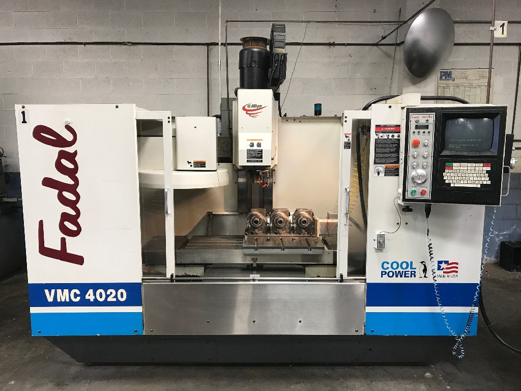 Full 4th Axis, High Torque, 30 Tool Changer, CAT 40, 10KRPM