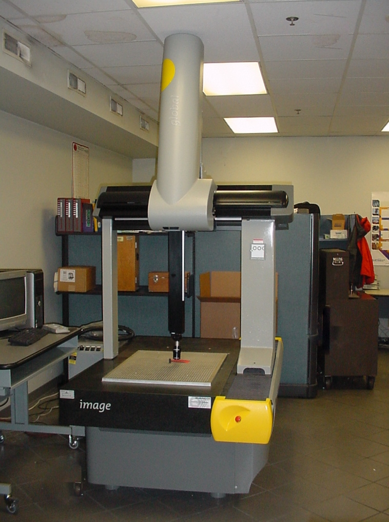 "Brown & Sharpe Global Image 7.10.7 DCC CMM, 2003, 27.5""x39.4""x26"", PCDMIS 3.5, Renishaw SH600 Probe, SP600M Scanning Head"
