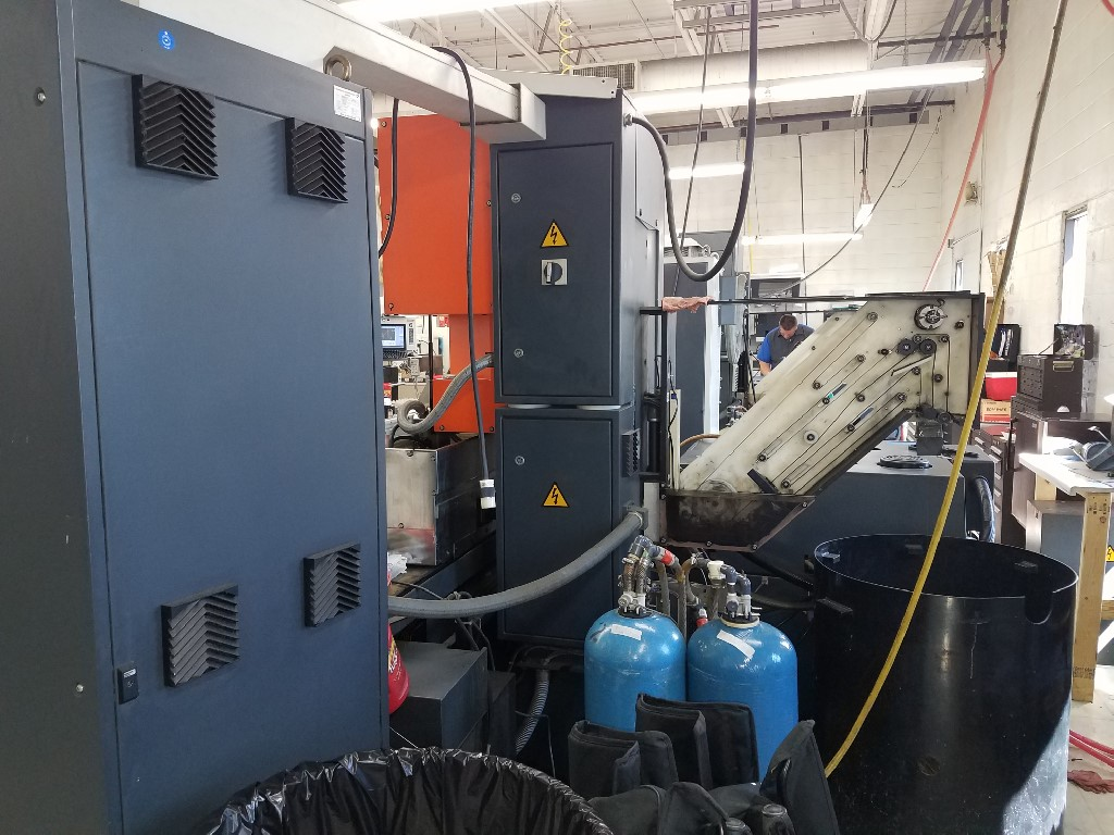 """CHARMILLESCharmilles Robofil 2020 SI Wire EDM, 2003, 39""""x19""""x10"""" Tank, Submerged Cutting, Wire Threading, Glass Scales"""