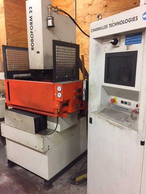 Charmille Roboform 22 4 Axis CNC Sinker EDM