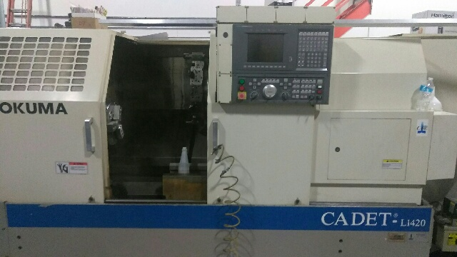 OKUMA1998 Okuma Cadet L1420 CNC Lathe