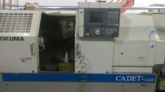 1998 Okuma Cadet L1420 CNC Lathe