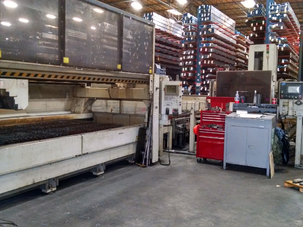 "Mitsubishi LZP 3015 Laser, New 2000. 5036D Resonator, 3600W, 60""x120"", Pallet Shuttle, Chiller, & more!"