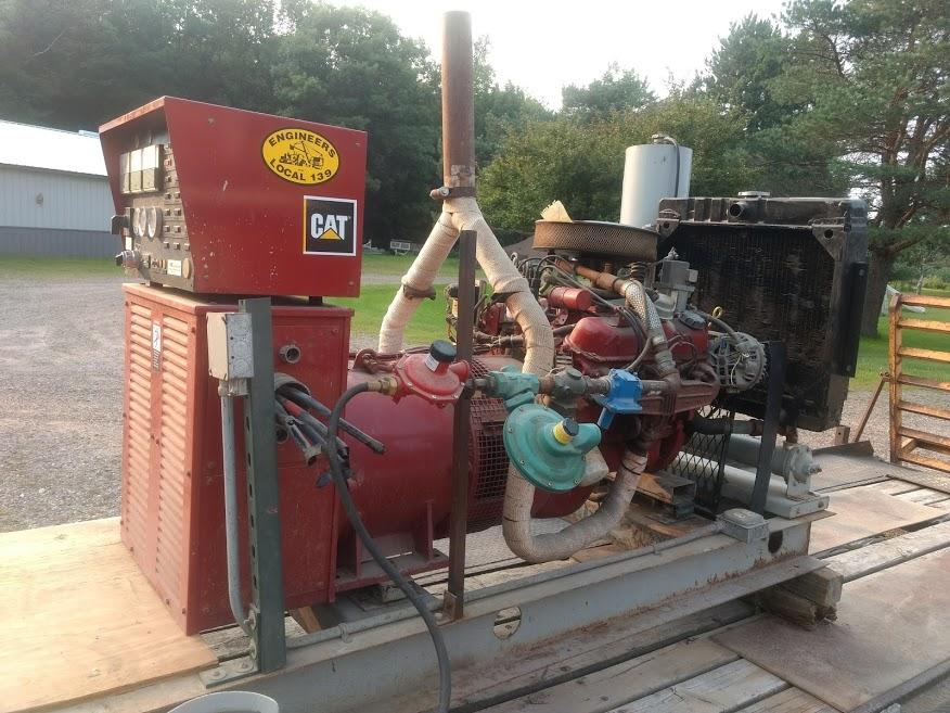 46KVA 3ph LP Gas Generator