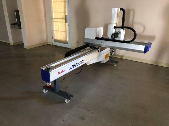 (1) USED YUSHIN ROBOT MODEL # RAII-ALPHA-150SL-95 MFG NEW: 2010