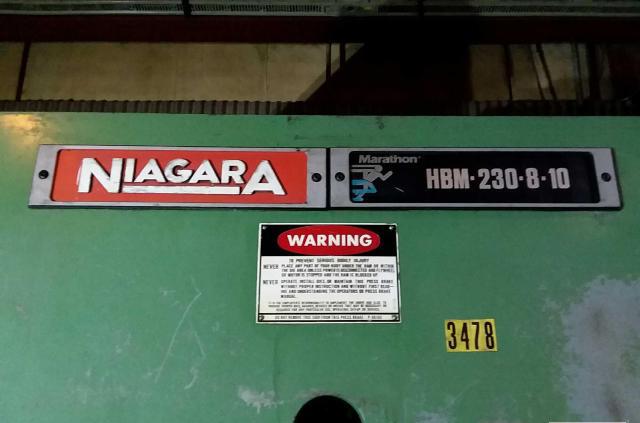 NIAGARA230T x 10' Niagara HBM 230-8-10