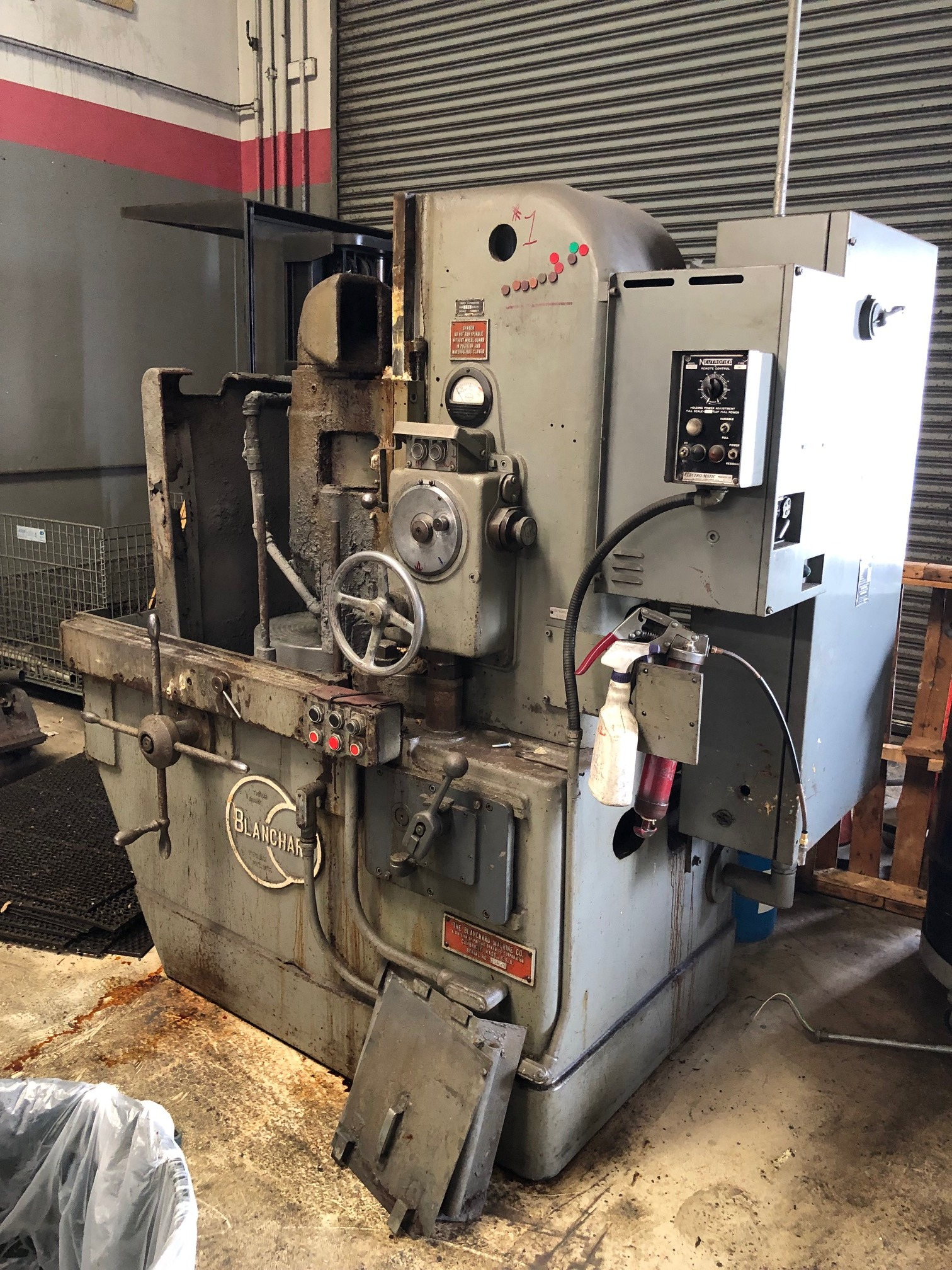 BLANCHARDBlanchard 11-16 Vertical Spindle Rotary Surface Grinder, 2 Available