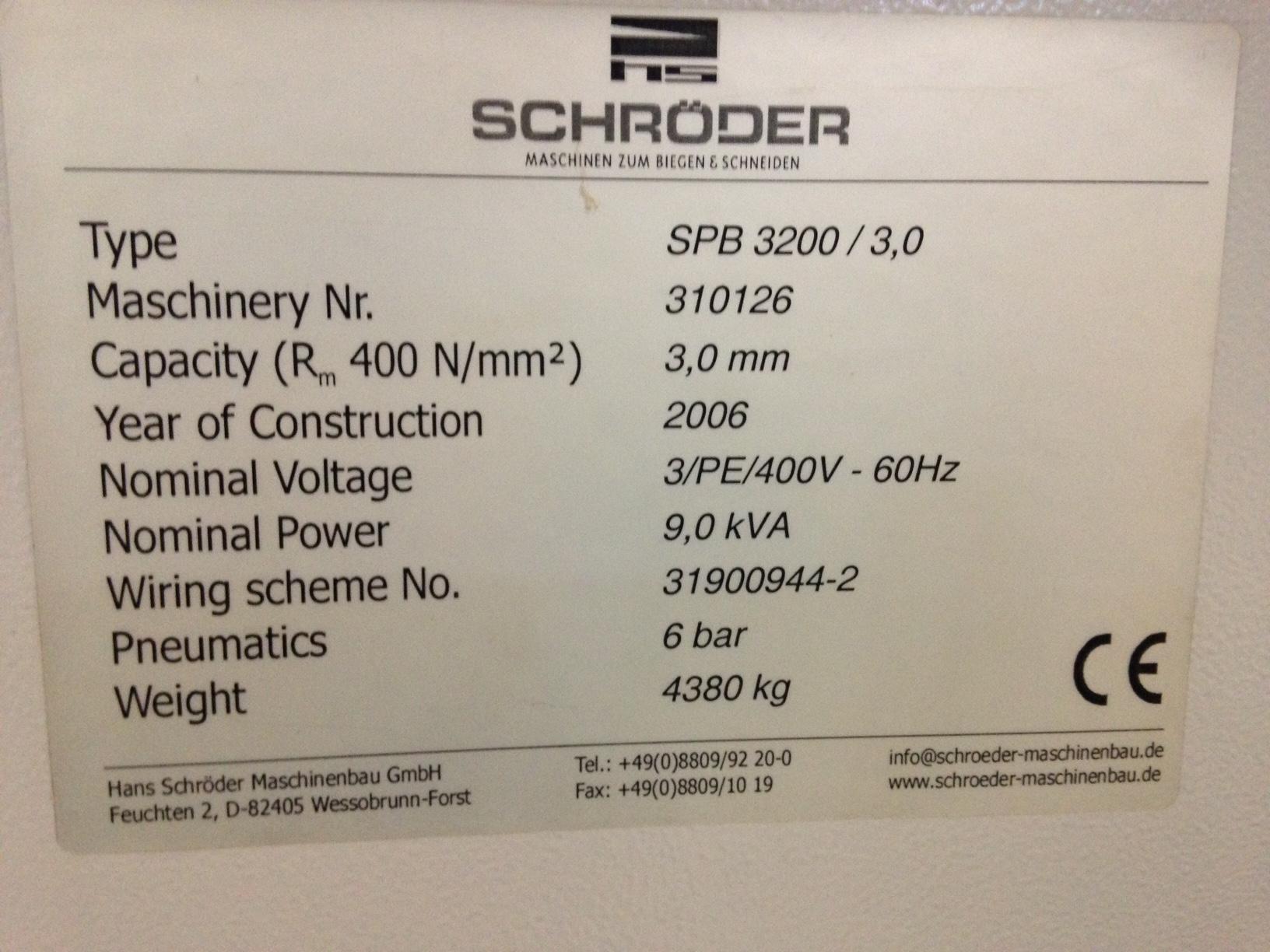 SCHRODERSchroder SPB 3200 3,0