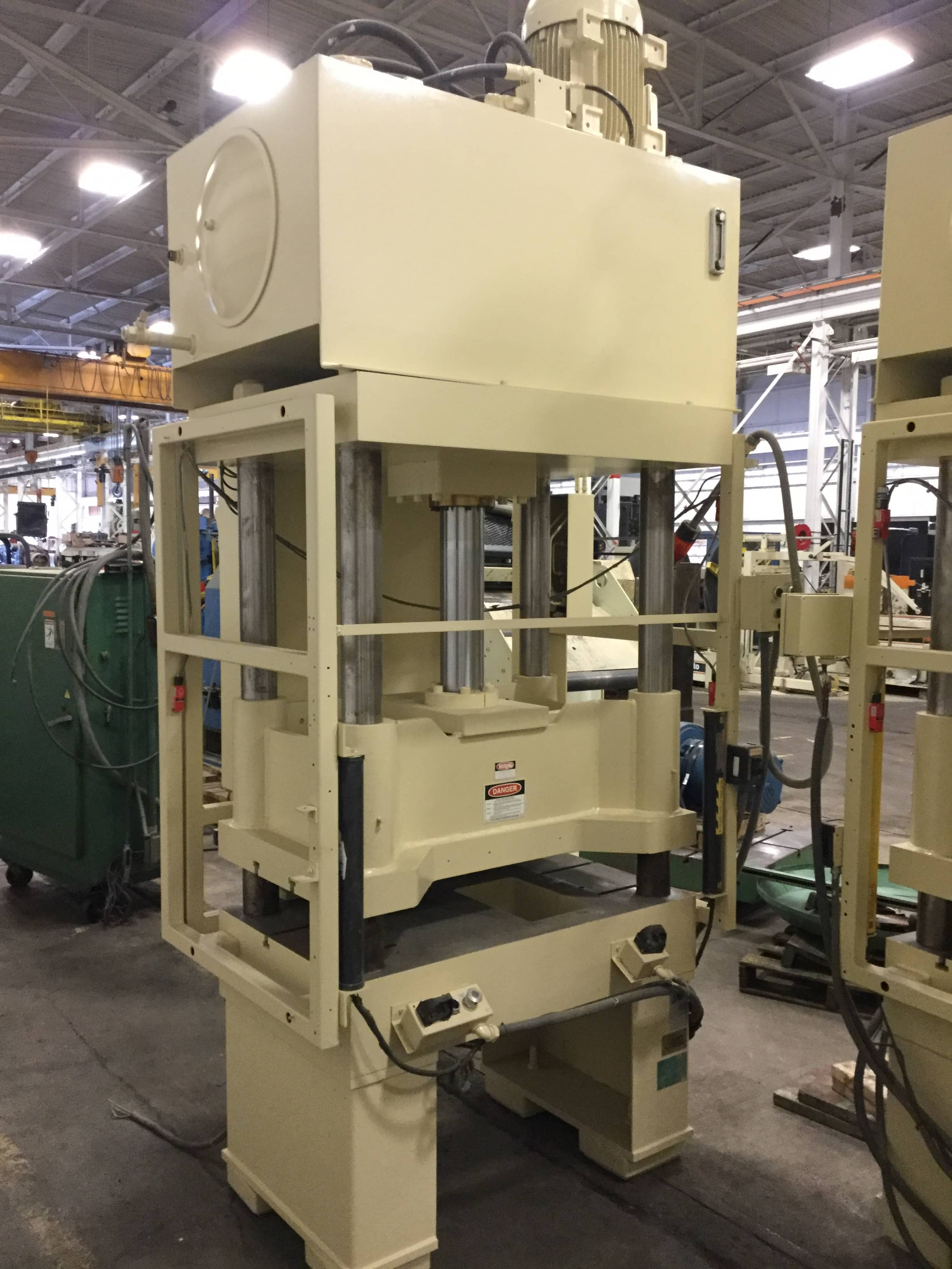 50 TON GREENERD HYDRAULIC PRESS